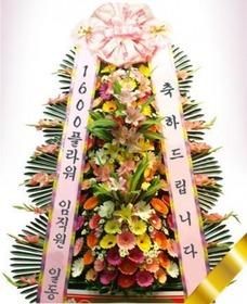 축하화환3단(행사상품)